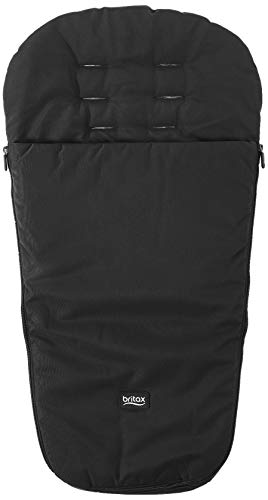 Britax Stroller Sleeping Bag Footmuff | Durable and Warm Insulation Fabric + 2-Side Zip Opening