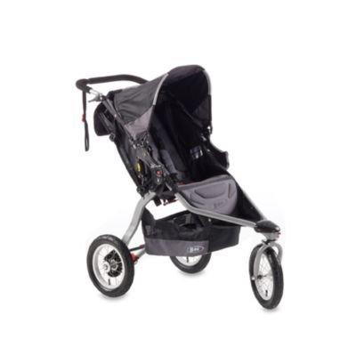 BOB Revolution CE Single Stroller in Black