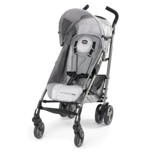 Chicco Liteway Plus 2-in-1 Stroller, Silver