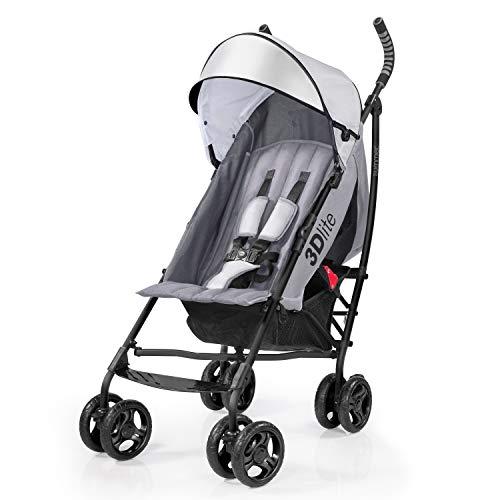 Summer 3D Lite Convenience Stroller, Grey