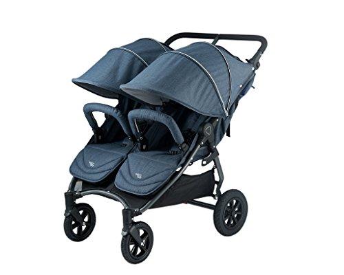 Valco Baby Neo Twin Double Lightweight All Terrain Stroller (Denim Blue)