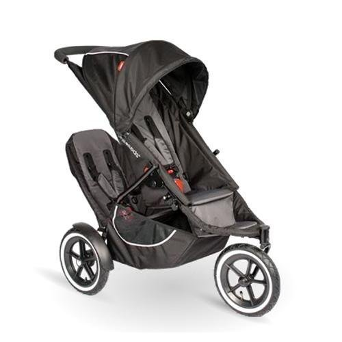 phil&teds Classic Stroller with Second Seat, Black