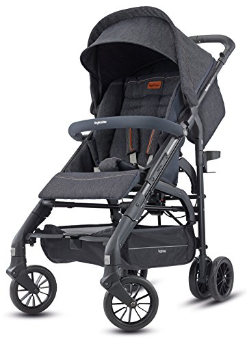 Inglesina Zippy Light Stroller - Car Seat Compatible Lightweight Stroller with Premium Accessories Included {Village Denim}