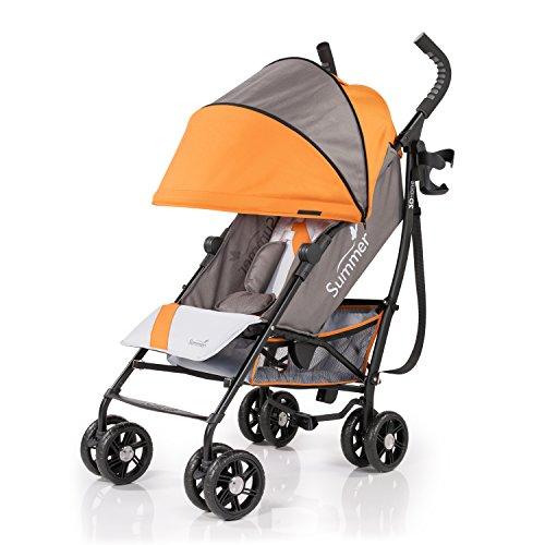 Summer Infant 3D One Convenience Stroller, Solar Orange