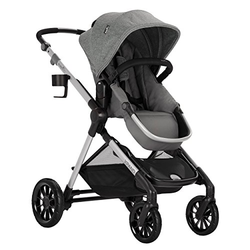 Pivot Xpand, Modular Baby Stroller, Converts to Double Stroller (Additional Toddler Seat Not Included), Percheron Gray