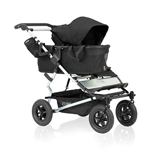 Mountain Buggy Duet 2016 Double Stroller, Black
