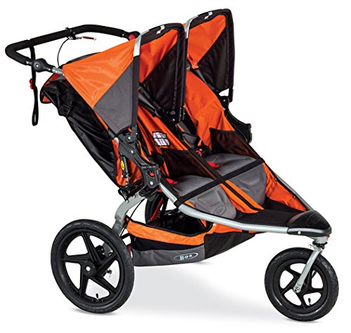 BOB Revolution Pro Duallie Stroller, Orange