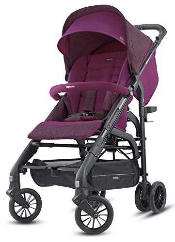 Inglesina Zippy Light Stroller - Car Seat Compatible Lightweight Stroller with Premium Accessories Included {Village Denim}
