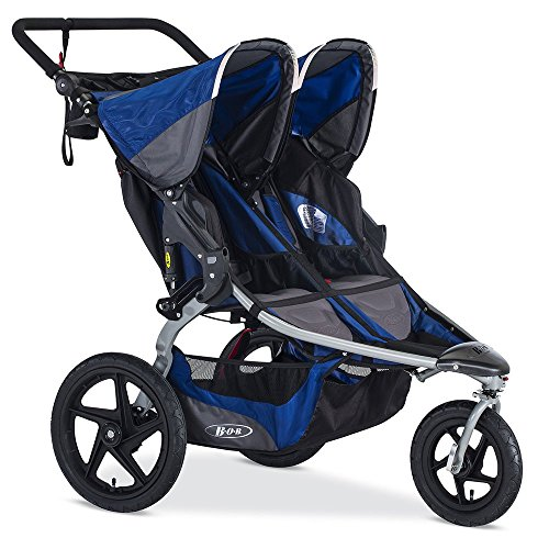 BOB Stroller Strides Fitness Duallie Jogging Stroller, Blue