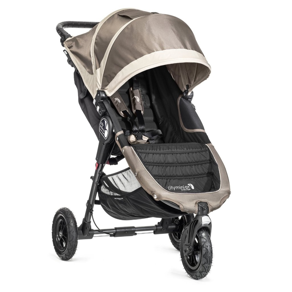 Baby Jogger 2014 City Mini GT Single Stroller Sand Stone- best single jogging stroller under $300 for park running