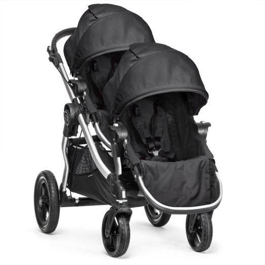 Baby Jogger City Select with Second Seat- Best 5 Double Strollers For Parks ,Trails,Playground