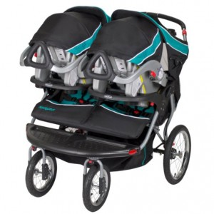 Baby Trend Navigator Double Jogger Stroller- 5 Best Side-by-Side Strollers for twins 2016