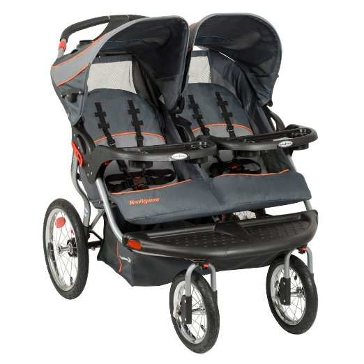 Baby Trend Navigator Double Jogger Stroller, Vanguard - best 5 baby double stroller for twins with car seat 2016