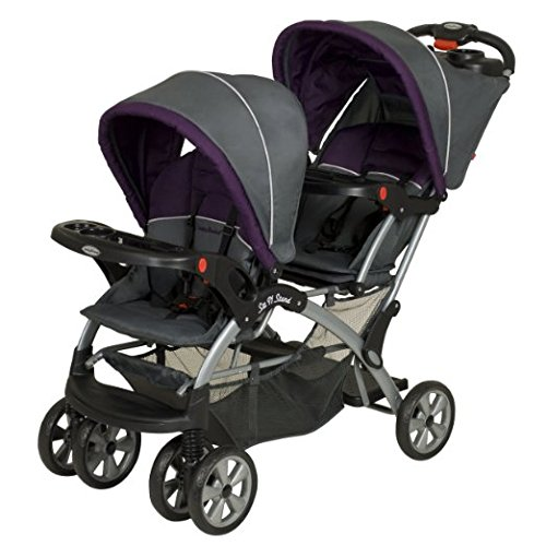 Baby Trend Sit N Stand Double Stroller- BEST 5 VALUE TANDEM DOUBLE STROLLERS ON A $300 BUDGET 2016 Infant and toddler