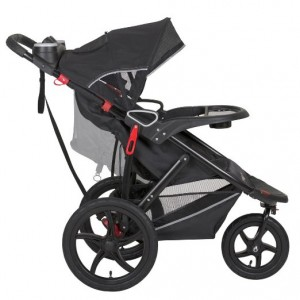 Baby Trend Velocity Lite Jogger Stroller, Black Knight, 50 Pounds - best single jogging stroller 2016 lightweight