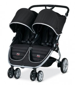Britax B-Agile Double Stroller Black - 5 Best Baby Strollers For Twins With Car Seat 2016