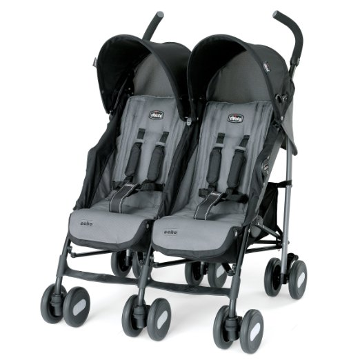 Chicco Echo Twin - Safest Double Strollers For Premature Infants (PREEMIES) And Toddlers 2016