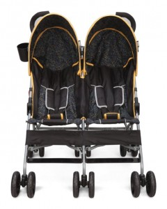 Delta Children City Street LX Side by Side Stroller-BEST 5 BUDGET DOUBLE STROLLERS FOR TWINS 2016