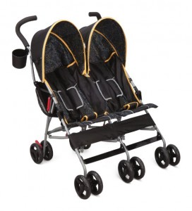 Delta Children City Street LX Side by Side Stroller - best 5 double strollers for parks,trails,playground and sand running