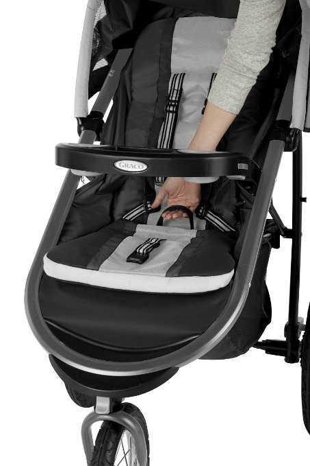 Graco Fastaction Fold Jogger Click Connect Stroller review - best 5 single jogging stroller under $250