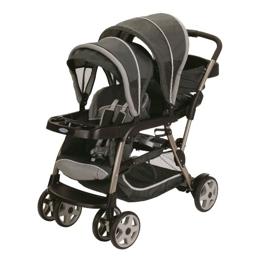 Graco Ready2grow Click Connect LX Stroller - BEST 5 VALUE TANDEM DOUBLE STROLLERS ON A $300 BUDGET 2016 Infant and toddler