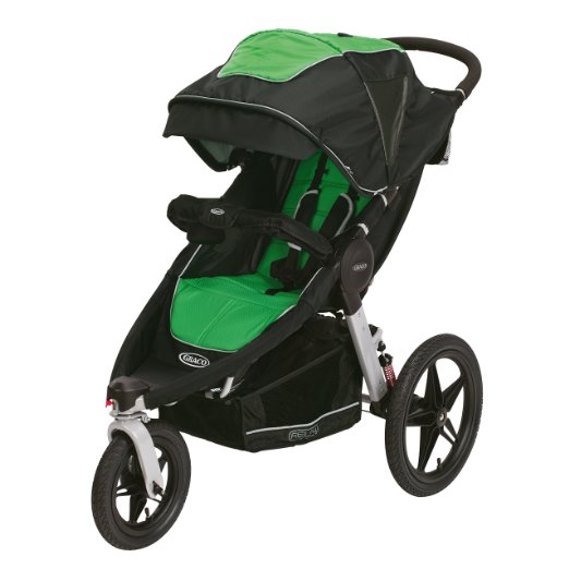 Graco Relay Click Connect Jogging Stroller, Fern - Best Single Jogging Strollers Under $300 2016