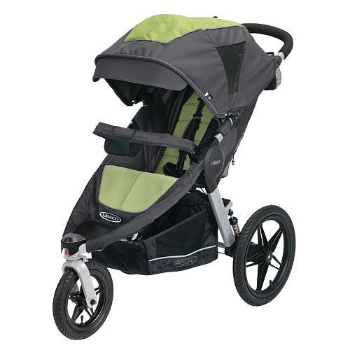 Graco Relay Click Connect Performance Jogger, Lynx - best single jogging strollers for newborn