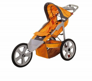InStep Flash Fixed Wheel Jogger- best 5 single jogging stroller for runners with safety