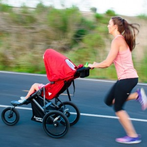 JOOVY Zoom 360 Ultralight Jogging Stroller - best single jogging stroller under $300