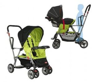 Joovy Caboose Stand On Tandem Stroller-best light weight stroller newborn,travel system