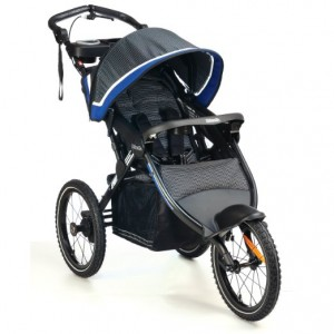 Kolcraft Sprint Pro Jogging Stroller, Sonic Blue review - best 5 single jogger strollers for baby 2016