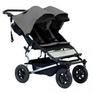 Mountain Buggy Duet, Double Stroller, Flint review-BEST 5 DOUBLE STROLLERS WITH OPTIONAL BASSINETS IN 2016