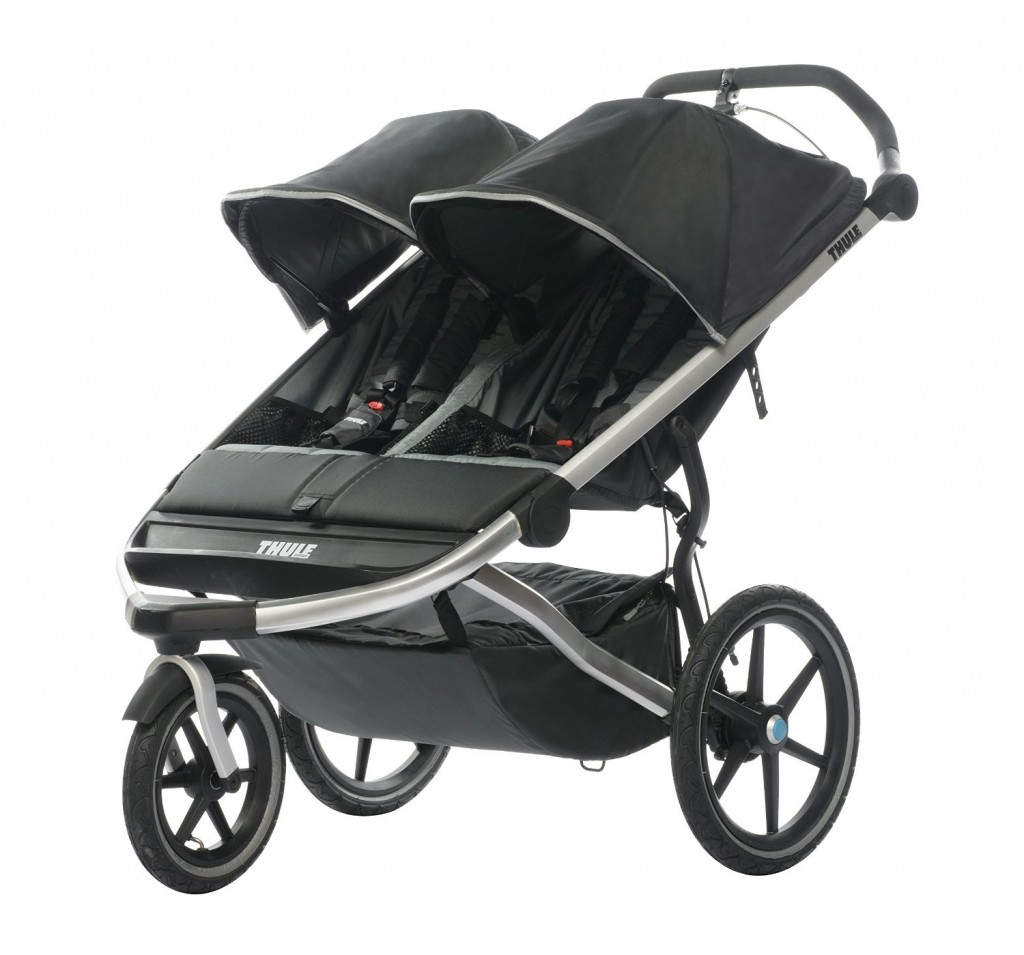 THULE Urban Glide 2 Stroller - 5 Safest Double Strollers For Premature Infants (PREEMIES) And Toddlers 2016
