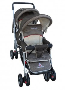 Amoroso Enterprise Deluxe Double Stroller - Best 5 Tandem Double Strollers General Purpose 2016