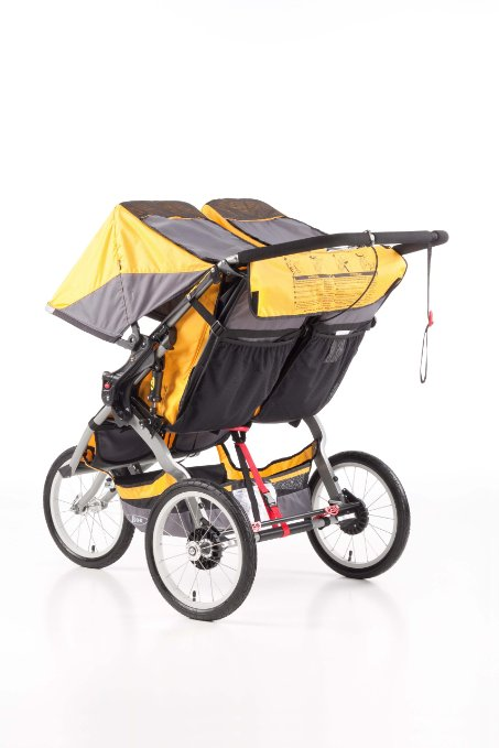 BOB Ironman Duallie Stroller - Best Double Jogging Stroller - Storage