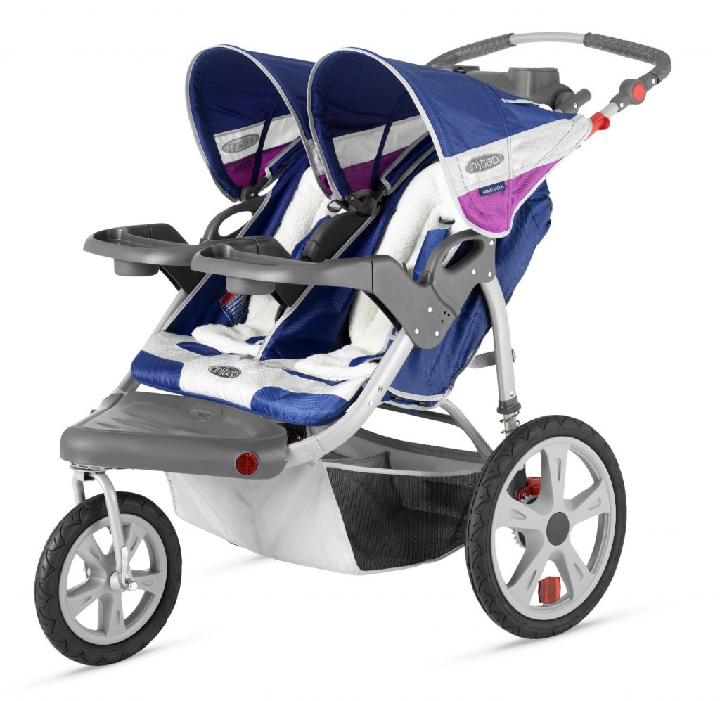 InStep Grand Safari Swivel Wheel Double Jogger - Best Double jogging Stroller