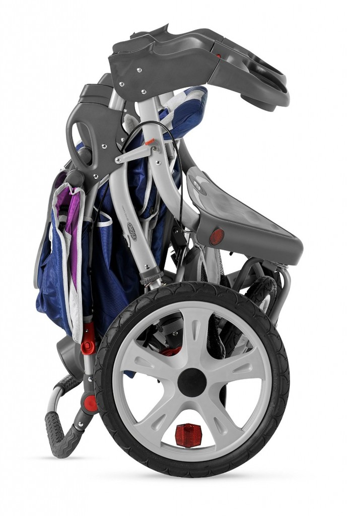 InStep Grand Safari Swivel Wheel Double Jogger - Best Double jogging Stroller -Weight and fold