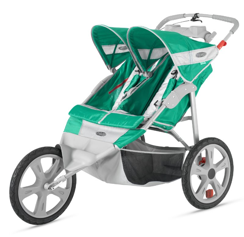 Instep Flash Fixed Wheel double Jogger-5 Best Side-by-Side Strollers For twins 2016