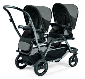 Peg Perego Duette Piroet Atmosphereo Stroller - Best Tandem Double Strollers General Purpose 2016