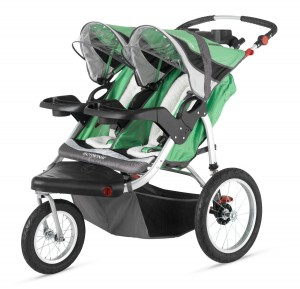 Schwinn Turismo Double Wheel Swivel Stroller - Best Double jogging Stroller -