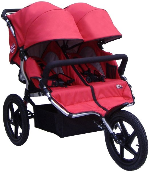 Tike Tech Double All Terrain X3 Sport Stroller - Best Double Jogging Stroller