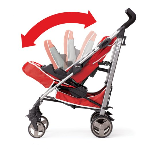 Chicco Liteway Plus Stroller - best umbrella strollers