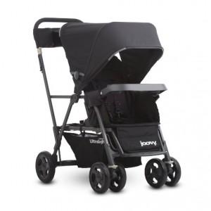 JOOVY Caboose Ultralight Graphite Stroller - best lightweight stroller