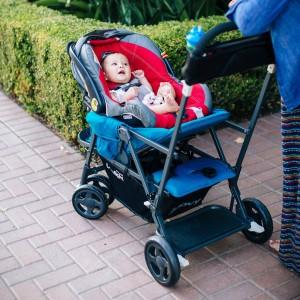 JOOVY Caboose Ultralight Graphite Strollers - best lightweight stroller