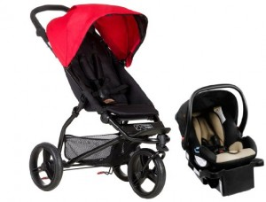 Mountain Buggy MB Mini Travel system Stroller - best lightweight stroller