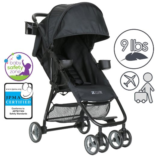 ZOE XL1 BEST Xtra Lightweight Travel & Everyday Umbrella Stroller System - Best Lightweight Stroller