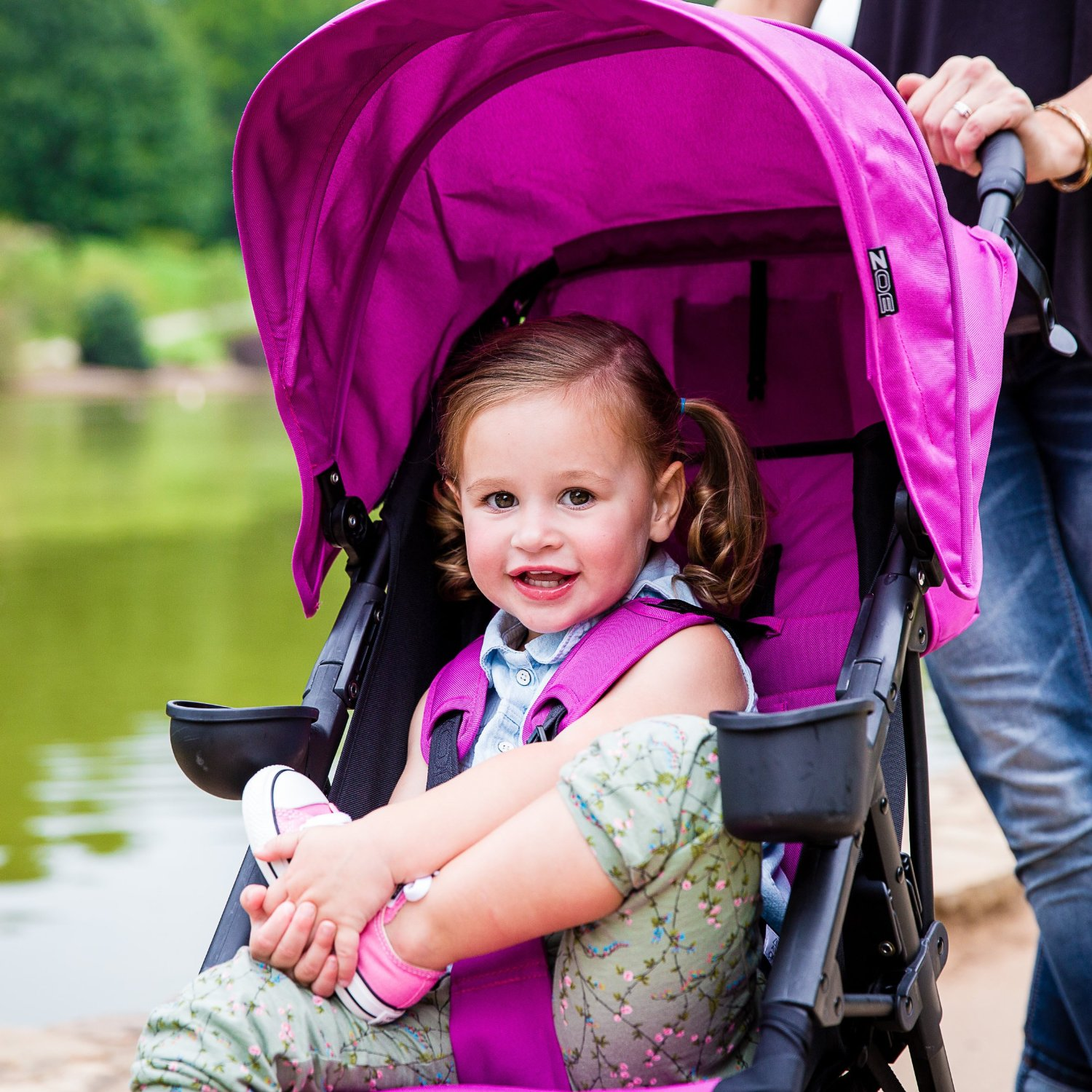 ZOE XL1 BEST Xtra Lightweight Travel & Everyday Umbrella Strollers System - best lightweight stroller