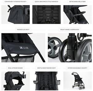 ZOE XL1 BEST Xtra Lightweight Travel System & Everyday best Umbrella Strollers System - best lightweight stroller