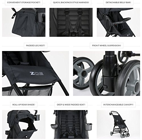 ZOE XL1 BEST Xtra Lightweight Travel System & Everyday best Umbrella Strollers System - best lightweight stroller