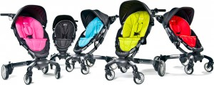 4moms Origami Stroller Review - avilable colors and options